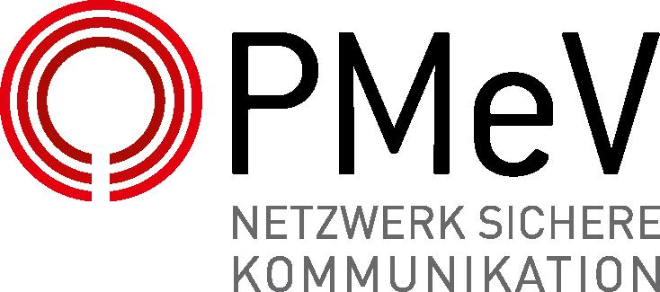 PMeV Logo Netzwerk Sichere Kommunikation