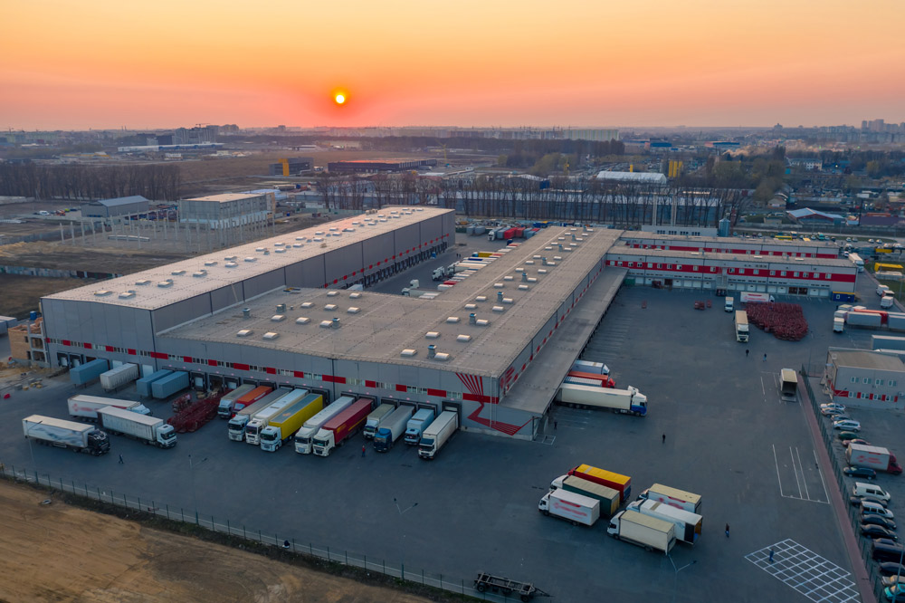 logistics halls