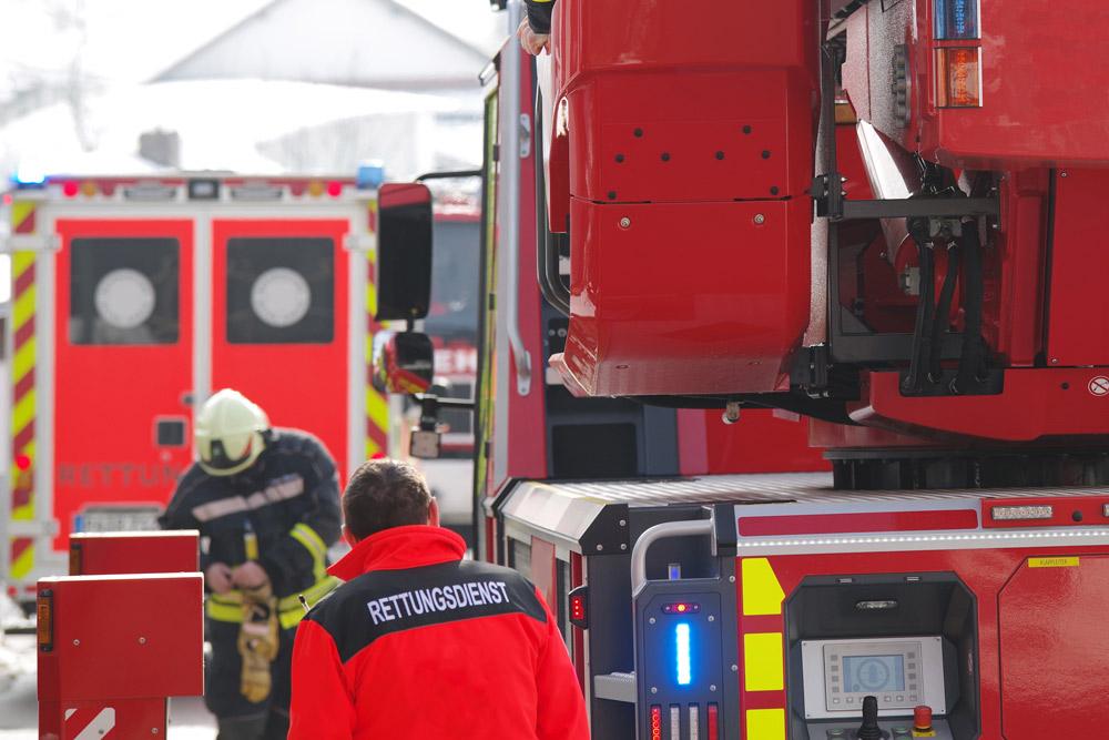 ambulance service with trucks