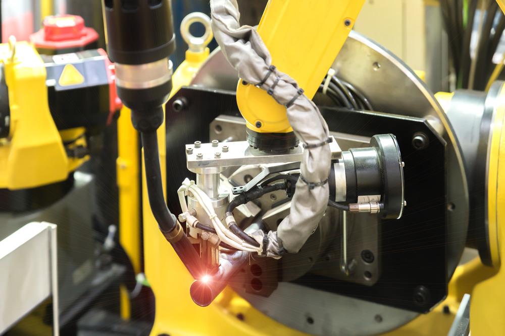 Welding roboter